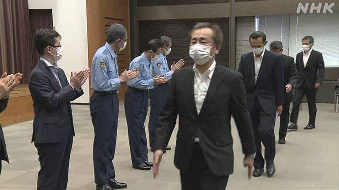Olimpiade Tokyo Selesai, Polisi Jepang Kembali ke Kota Masing-masing