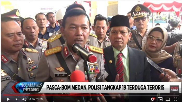 Polisi Tangkap 19 Terduga Teroris di Berbagai Daerah setelah Bom Bunuh Diri di Mapolrestabes Medan