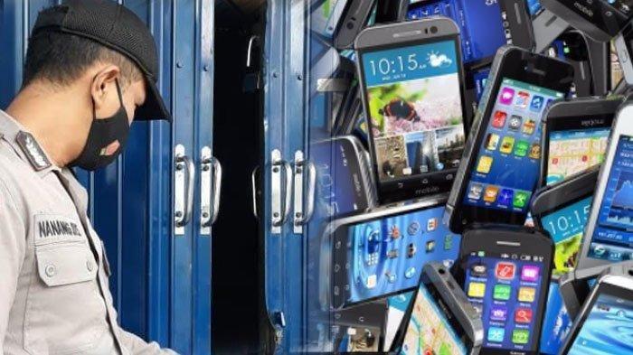 Pencuri Ponsel Serakah, Sudah Bawa Dua Karung Masih Ambil Tong Sampah Embat HP