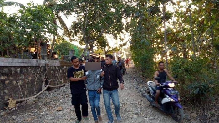 Pencuri Motor Menyerah Setelah Dikejar Polisi Hingga Dikepung Warga