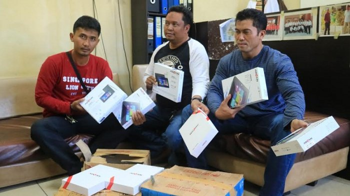 Komplotan Pencuri Barang Elektronik Berakhir di Samarinda