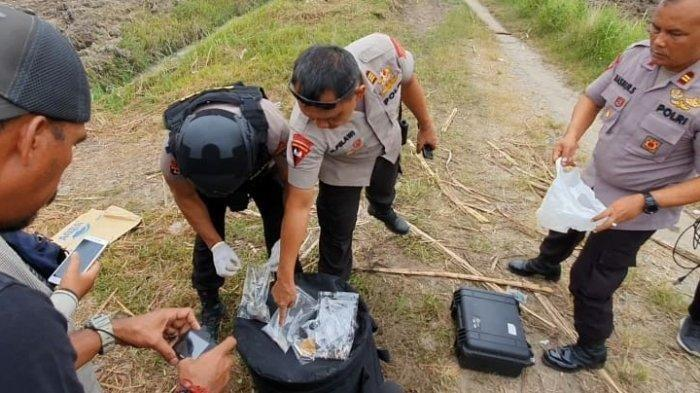 Bom Kaleng Sarden Terduga Teroris di Medan Diledakkan