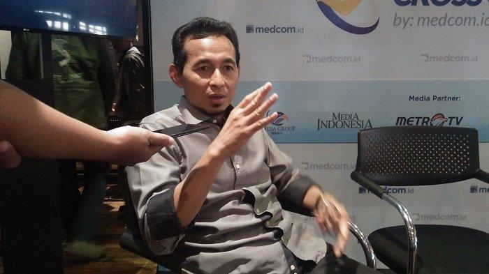 Politikus Partai Keadilan Sejahtera (PKS) Bukhori Yusuf usai diskusi di kawasan Menteng Jakarta Pusat pada Minggu (8/12/2019).