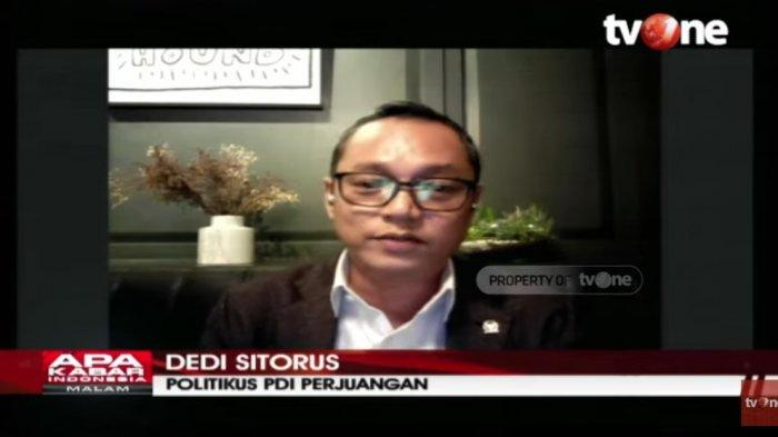 Politikus PDIP Deddy Sitorus soal hasil survei