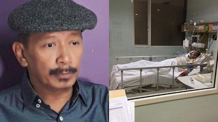 Polo Srimulat terlihat terbaring di ruang ICU