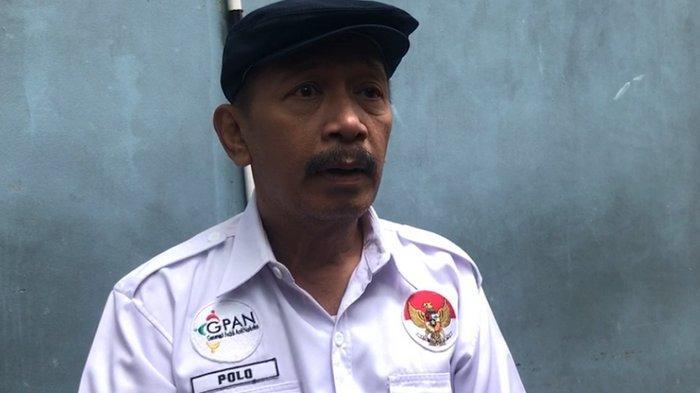 Komedian Polo di kawasan Jl. Kapten Tendean Jakarta Selatan, Selasa (23/7/2019).