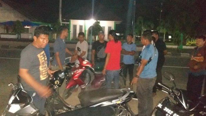 Polisi Bubarkan Balap Liar di Bireuen, Delapan Sepeda Motor Diamankan