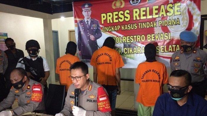 Cinta Segi Empat Berakhir Tragis di Bekasi, Asmara yang Dibumbui Ancaman dan Pemerasan