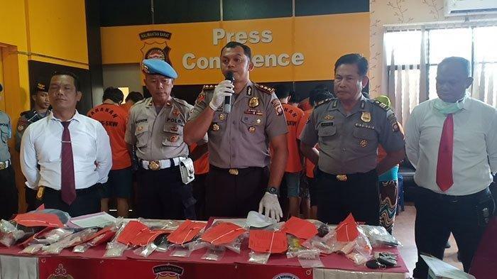 Polres Singkawang Sita 8,81 Gram Sabu-sabu dari Dua Warga Malaysia
