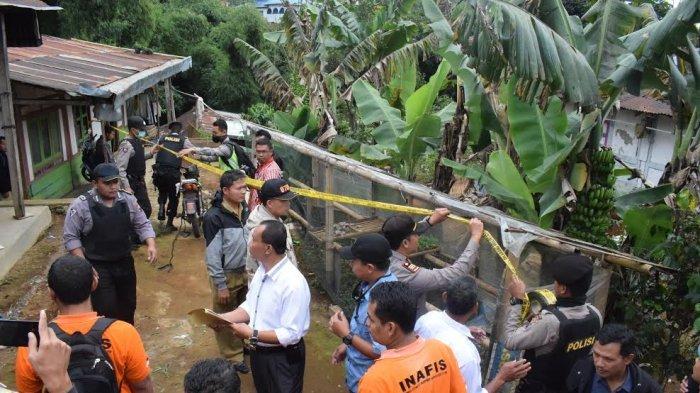 Rumah Terduga Teroris di Desa Bonjor Digeledah Lagi