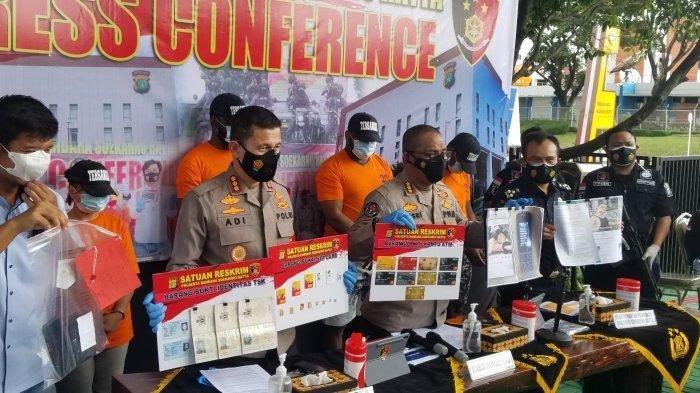 Polisi Bongkar Sindikat Penipuan yang Beranggotakan WNI dan WNA asal Nigeria