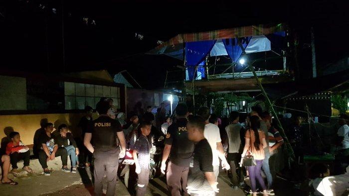 Polsek Bunaken Bubarkan Aksi Disko Tanah saat Perayaan Lebaran Ketupat