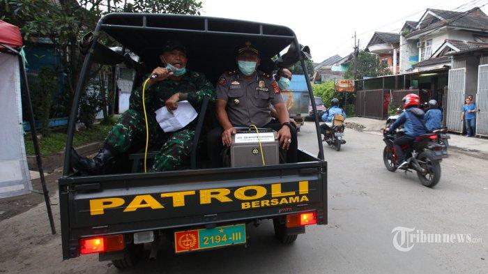 Patroli Bubarkan Kerumunan Warga, Sejauh Ini Belum Ada Perlawanan