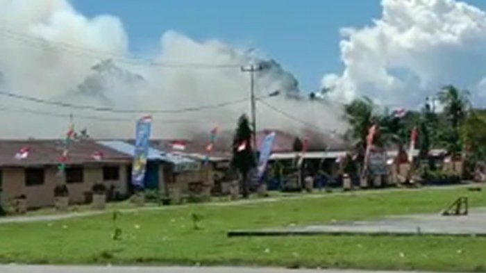 Usai Pembakaran Markas Polisi, Distrik Nimboran Aman dan Kondusif