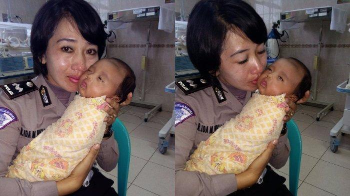 Adanya PP yang Diteken SBY, Polwan Ini Gagal Adopsi Bayi yang Ditemukannya di Parit