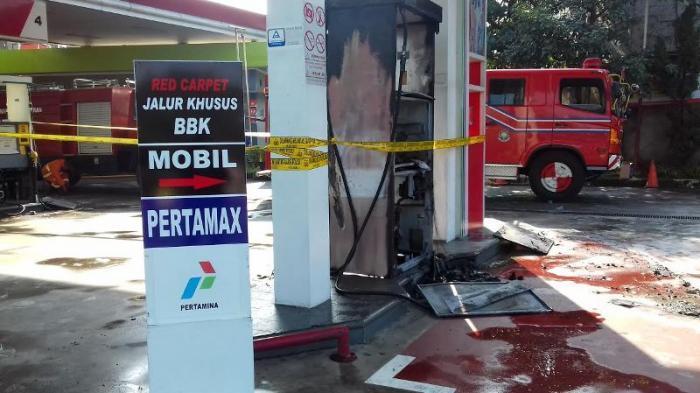 Tak Ada Korban Jiwa Ketika Pom Bensin Tanhsareal Kota Bogor Terbakar - pom-bensin-terbakar_20160312_153239.jpg