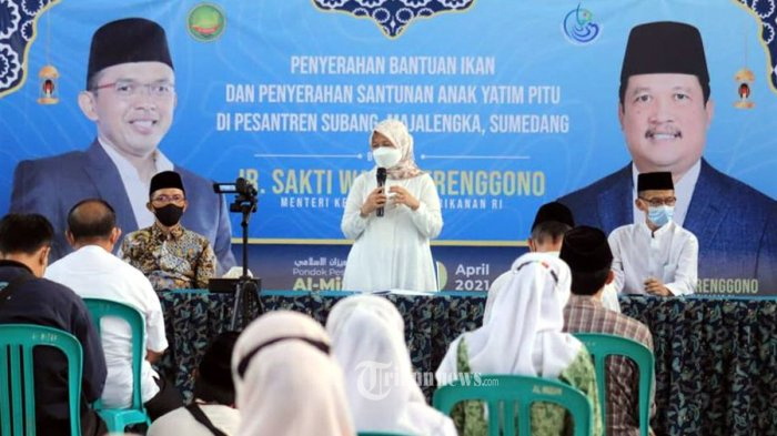 Cahaya Ramadan BKIPM, 2 Ton Ikan Untuk Santri Ponpes
