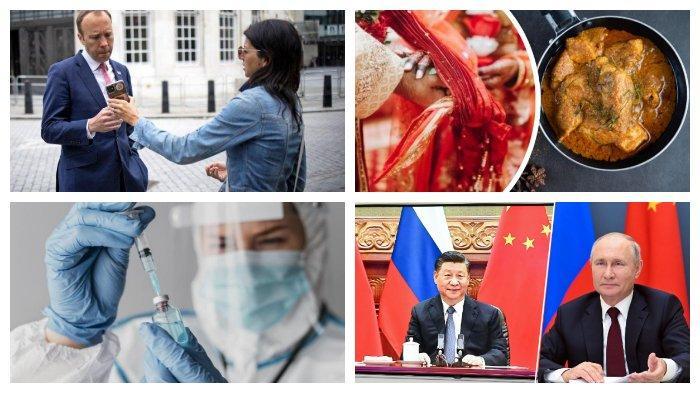 POPULER Internasional: Skandal Mantan Menkes Inggris | Rusia dan China Eratkan Persahabatan