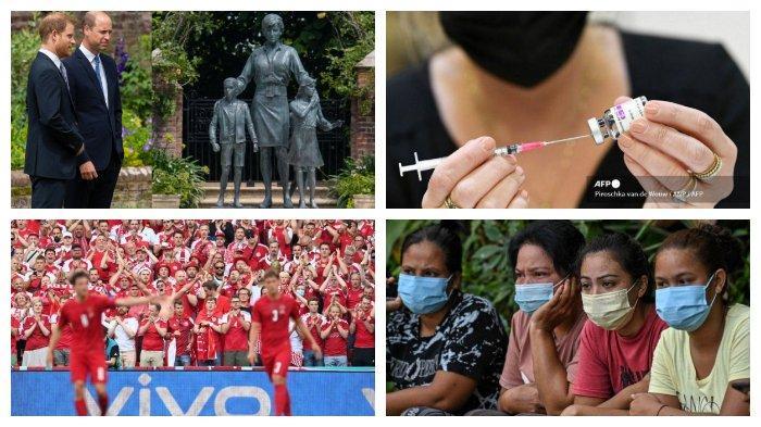 POPULER Internasional: Peresmian Patung Putri Diana | Aturan Lockdown di Kuala Lumpur