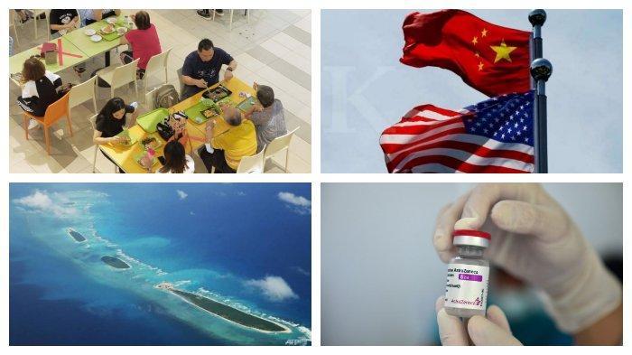 POPULER Internasional: Singapura Longgarkan Aturan Covid-19 | Thailand Berencana Gabungkan 2 Vaksin