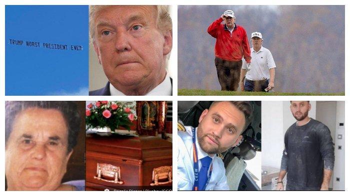 POPULER Internasional: Donald Trump Tak Disambut Ramah di Florida | Cerita Pilot Jadi Kuli Bangunan