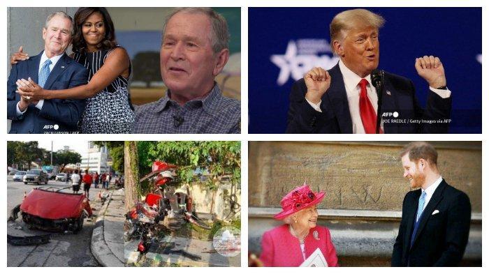 POPULER Internasional: Persahabatan George W Bush & Michelle Obama | Pangeran Harry Tunda Kepulangan