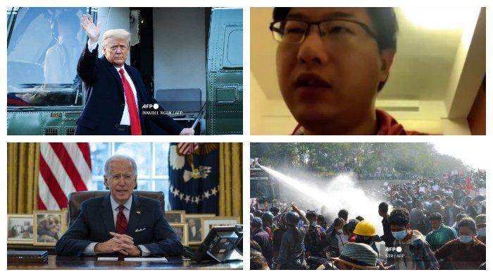 POPULER Internasional: Trump Disebut Tak Sesali Insiden Capitol   Unjuk Rasa Myanmar Makin Bertambah