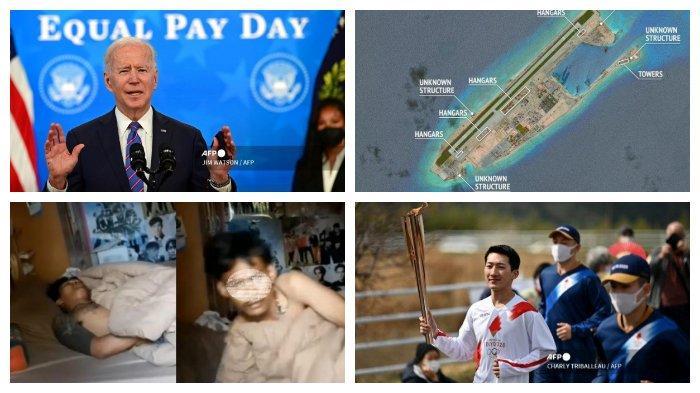 POPULER Internasional: Wacana Larangan Bersenjata di AS | Estafet Obor Olimpiade Tokyo Dimulai