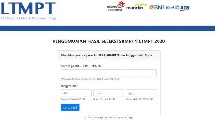 Download dan Cetak Sertifikat UTBK - SBMPTN 2020, Mulai Pukul 15.00 WIB, Segera Akses Portal LTMPT