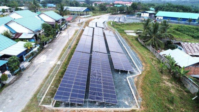 Pengembang Proyek Energi Surya Dukung Program Green Mining