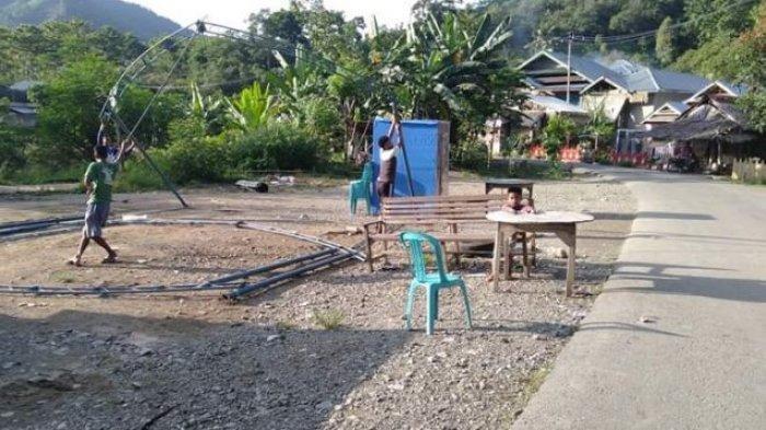 Warga Sering 'Ribut' dengan Relawan, Posko Covid-19 di Desa Wilayah Kabupaten Luwu Dibongkar