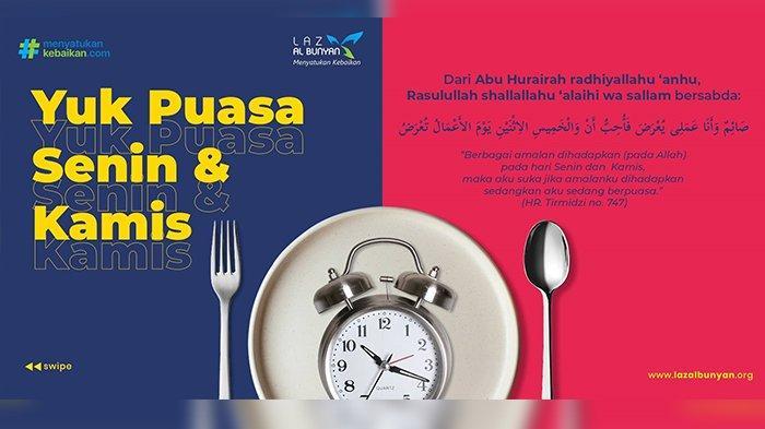 Bacaan Niat Puasa Senin Kamis, Lengkap dengan Bahasa Arab dan Latin, Berikut Keutamaannya