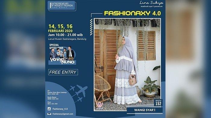 300 Fesyen Muslim Karya UMKM Jawa Barat Dipamerkan di  Lanud Husein Sastranegara Bandung
