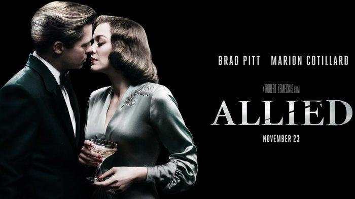 Sinopsis Allied, Kisah Percintaan di Tengah Perang Dunia II Tayang Malam Ini di Trans TV