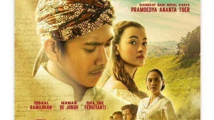 Poster Film Bumi Manusia.