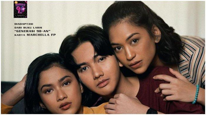 Poster film Generasi 90an: Melankolia.