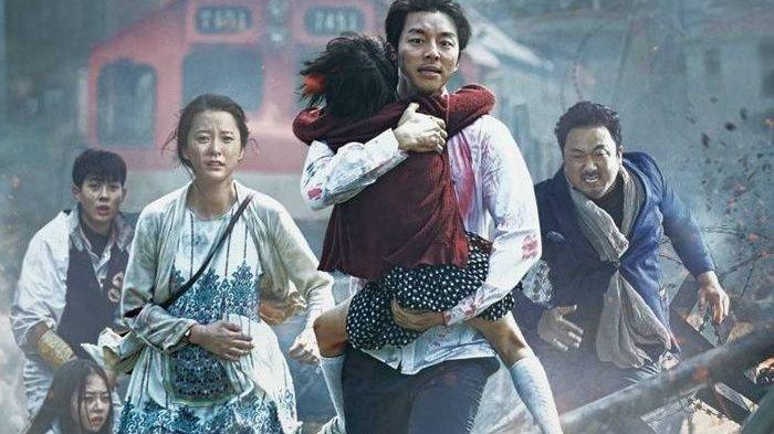 Poster Film Train To Busan, yang akan tayang di TRANS7 Sabtu (23/5/2020) pukul 22.00 WIB.
