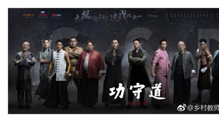 Jack Ma Adu Ilmu Bela Diri dengan Donny Yen dan Jet Li