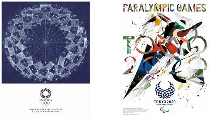 Poster Ikonik Olimpiade dan Paralimpiade Jepang Diperkenalkan kepada Masyarakat