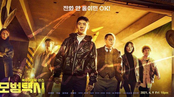 Poster drama Korea Taxi Driver