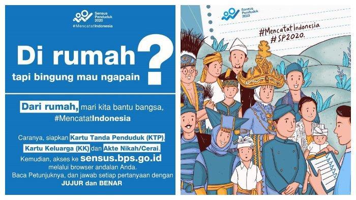Login sensus.bps.go.id Sebelum 31 Maret, Isi Data Sensus Penduduk Online 2020 di Rumah, Cuma 5 Menit.