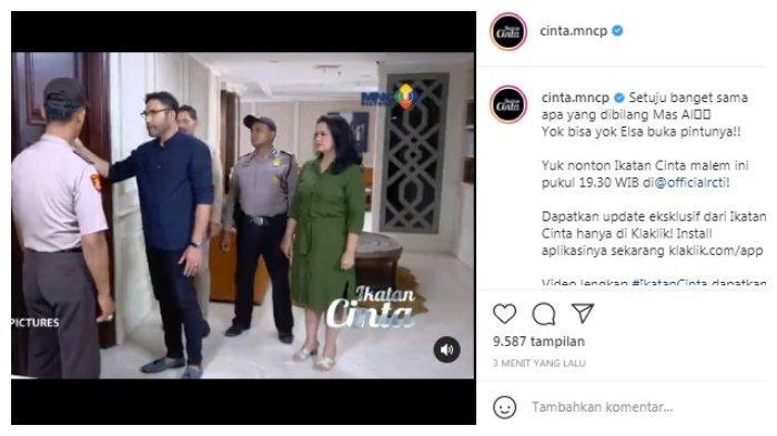 Postingan akun Instagram @officialrcti 1 Agustus 2021.