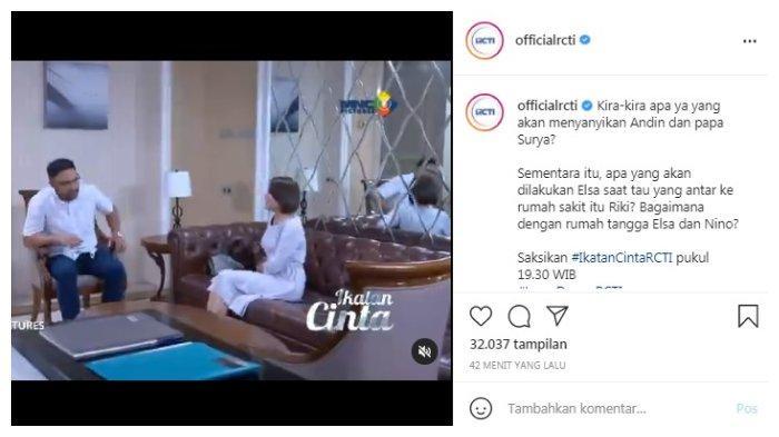 Postingan akun Instagram @officialrcti Senin, 28 Juni 2021.