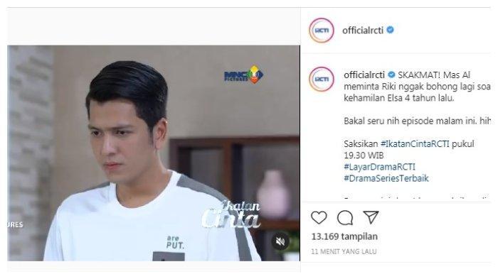 Postingan akun Instagram @officialrcti