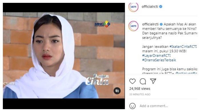 Postingan akun Instagram @officialrctis 23 Juli 2021