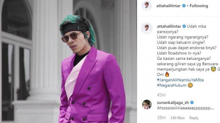 Postingan Atta Halilintar merespons tuduhan Bebby Fey