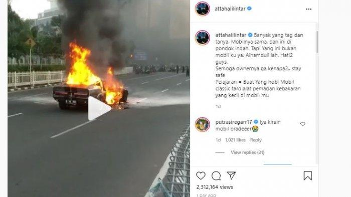 Postingan Instagram Atta Halilintar