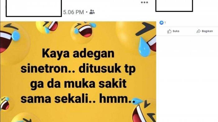 Postingan istri anggota Korem Padang