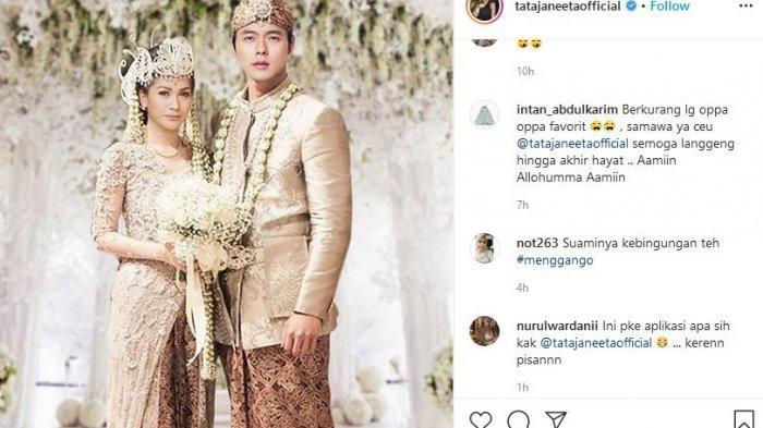 Postingan Tata Janeeta menikah