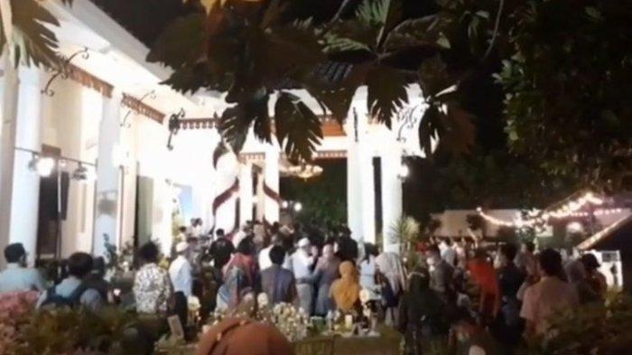 Potongan gambar video viral Ultah Gubernur Jatim Khofifah Indar Parawansa
